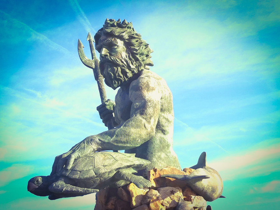 Neptune Statue - Photography | Pittsburgh, PA